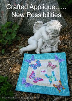 Crafted Applique New Possibilities Blog Hop and mini quilts.  #craftedapplique