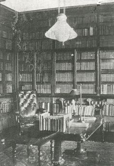 This is the only photograph of the study at Gad's Hill Place, seen as it was left by Charles Dickens