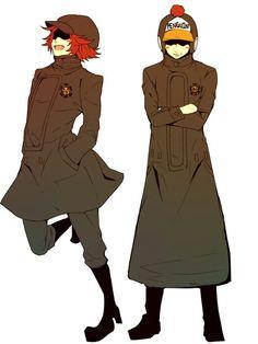Penguin e Shachi