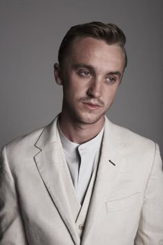 tom felton. Thin and Blonde. Perhaps he would be a better Lot.