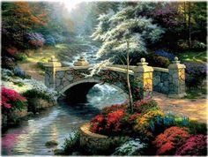 Bridge of Hope by Thomas Kincade