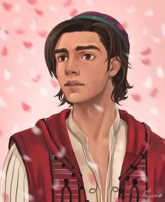 Aladdin from Disney's live action movie, Aladdin Aladdin Art, Aladdin Live, Upcoming Disney Movies, Disney Films, Live Action Movie, Action Movies, Jelsa, Kiss And Romance, Disney World Characters