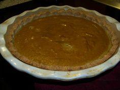 Low Carb Gluten Free Pumpkin Pie