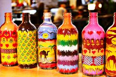 Sand Art Bottles In Jordan