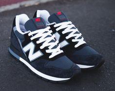 New Balance 996 – Navy – Steel Blue – White