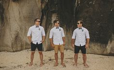 Shirt and shorts casual groom - What Style Of Groom Are You? - Casual | CHWV