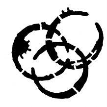 3 Ring Binder Stencil Stencils Seth Apter Rings