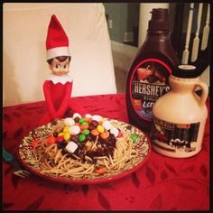 Elf on the Shelf: Is there sugar in syrup?
