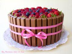 La Manzana dulce de Eva: Tarta kitkat paso a paso Cupcake Cakes, Cupcakes, Birthdays, Food And Drink, Birthday Cake, Sweet, Desserts, Ideas Para, Amazing