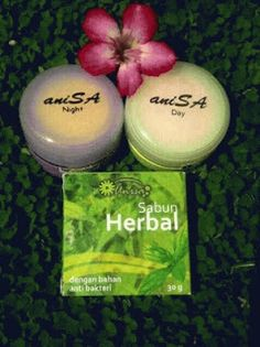 Cream Anisa Original adalah Produk Perawatan Wajah yang mengambil bahan herbal kandungan Susu Kambing yang kaya Gizi dan Nutrisi, bagi Kulit Wajah & Juga menggunakan bahan Herbal Minyak Zaitun sangat bagus untuk mencerahkan kulit, memutihkan, menghilangkan flek hitam, mengecilkan pori-pori, mencegah penuaan dini, menghilangkan jerawat dan menghaluskan kulit wajah info lengkap kunjungi http://lianybeauty.blogspot.com/2012/11/paket-kecantikan-anisa-original.html