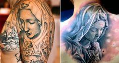 Fotos de diseños de tatuajes religiosos