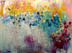 fields of summer by Wendy McWilliams -  acrylic on 30 by 40 in canvas  http://wendy-mcwilliams.squarespace.com/ http://www.etsy.com/shop/wendymcwilliams