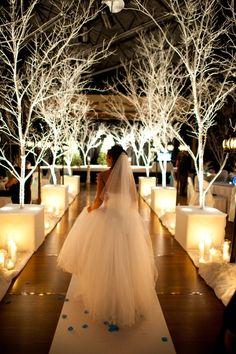 winter wonderland #wedding #bride