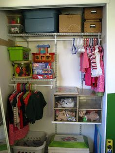 The Small House Family: small space living. THIS is the small closet solution I have been looking for! YES!!!!