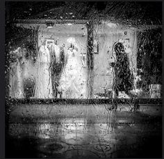 """""""Behind the Window"""" By Koops Autumn Painting, Timeline Photos, View Image, Street Photography, Street View, Windows, Photo And Video, World, Rain Drops"""