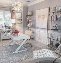 glam office, home office, bamboo desk, blogger office, style your senses. . #officedecorwalmart