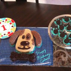 Puppy Dog Cake - use picture as reference