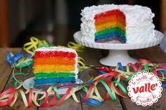 Ecco una dolcissima torta a sorpresa per i vostri bambini! La sorpresa è quando si taglia! Buon Carnevale!