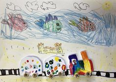 Vytvořili předškoláci našeho výtvarného studia. Studios, Snoopy, Painting, Fictional Characters, Art, Art Background, Painting Art, Kunst, Paintings