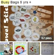GREAT IDEAS!!! Busy Bags for ages 5+