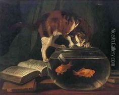 z- Ode, Death of Favourite Cat. Drowned in Goldfish Bowl [True- Grey's Friend] -2b
