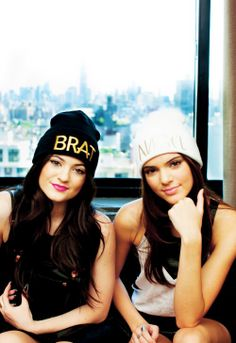 Kendall and Kyle Jenner