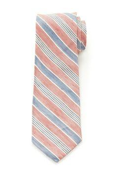 Peele Stripe Linen Blend Tie from HauteLook on Catalog Spree, my personal digital mall.