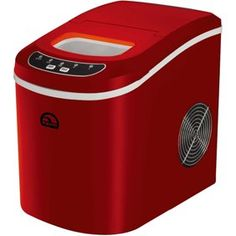 Igloo Portable Compact Countertop Ice Maker, Makes Led Indicator – Red Cubes, Best Ice Cream Maker, Nugget Ice Maker, Compact, Bin Store, Hiking Tent, Thing 1, Walk In, Camping World