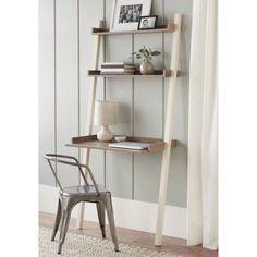 "10 Spring Street Bedford Leaning Desk, Dimensions: 33.25""L x 19.2""W x 71.5""H Walmart $82"