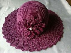86 melhores imagens de Chapéu de crochê  be57670e597