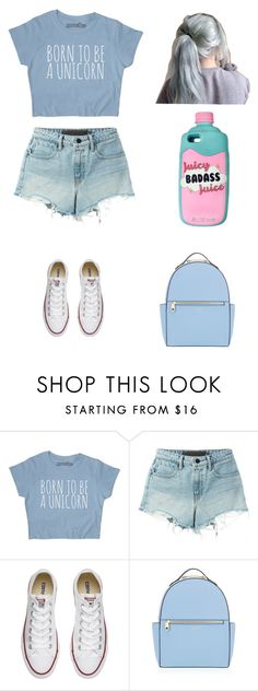 """Untitled #209"" by karenrodriguez-iv on Polyvore featuring T By Alexander Wang, Converse and Henri Bendel"