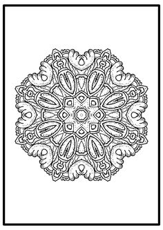 We release today another free easy mandala to color. We design new style every day . So check our website periodically if you want to discover new mandala coloring pages to color