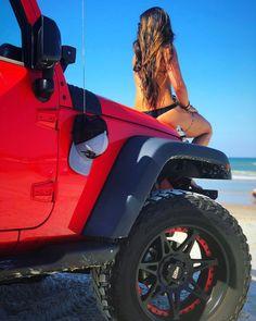 #Jeep #Women #Woman #Chic #Chics #JeepLife Jeep Wrangler Girl, Jeep Wrangler Unlimited, Jeep Wranglers, Wrangler Accessories, Jeep Accessories, Jeep Truck, Gmc Trucks, Jeep Jeep, Trucks And Girls