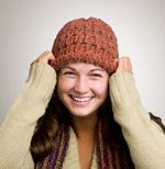 Patterned Hat - Knifty Knitter