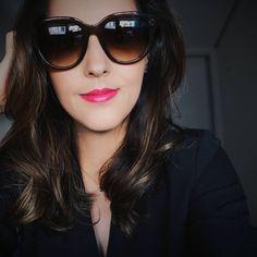 """1,107 curtidas, 18 comentários - Camila Gomes (@blogsenhorita) no Instagram: """"Tinha um tempão que não usava o Girl about town da @maccosmetics e esqueci como é lindo este tom de…"""""""