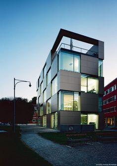The NIK Building with process of conversional development in Graz, Austria