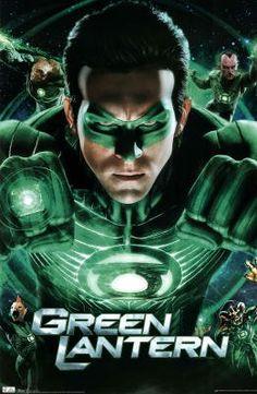 Amazon.com: Green Lantern Movie Group Ryan Reynolds Poster Print - 22x34 Poster Print, 22x34: Home & Kitchen