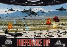 We had to provide a huge amount of uniforms for this film. Bill Pullman, 24 September, Independence Day, Will Smith, It Cast, Film, World, Movies, Movie Posters