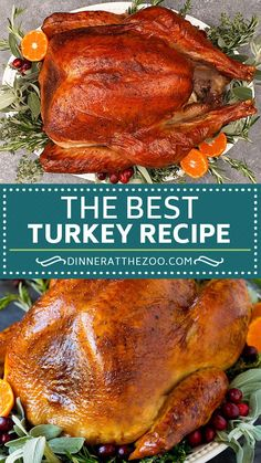 Dinner Party Recipes, Lunch Recipes, Vegetarian Recipes, Cooking Recipes, Healthy Recipes, Kitchen Recipes, Breakfast Recipes, Best Turkey Recipe, Turkey Recipes