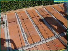 Aprenda como fazer uma LAJE corretamente! | Meia Colher Diy Projects Plans, Concrete Floors, Terrazzo, Autocad, Shelter, Arch, Construction, Flooring, Wall Art