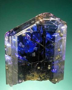 Magnificent untreated tanzanite