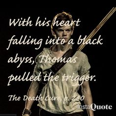 The Maze Runner - Newt and Thomas