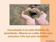 Aprender por meio da comunicação...