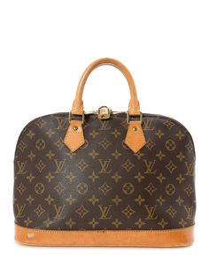 Louis Vuitton Alma Monogram Handbag - Vintage