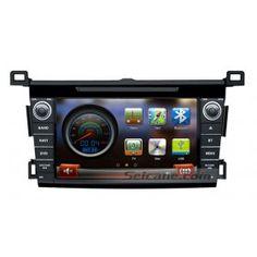 7 Zoll 2013 Toyota RAV4 Nachrüst Auto Stereo Bluetooth GPS Navigationssystem mit DVD Player TV Radio Backup kamera iPod iPhone USB SD AUX Lenkrad-Steuerung Zwei-Zonen