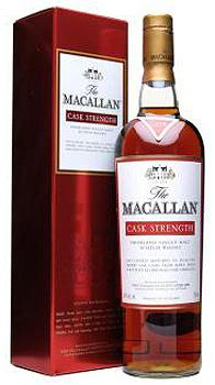 The Macallan Cask Strength Whisky