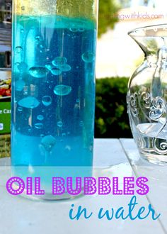 Simple experiment to do at home with the kids...with ingredients you probably…