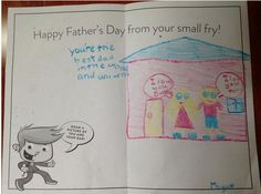 Thanks to all of the small fries who came in and created custom Father's Day cards for their dads! Fathers Day Ecards, Happy Fathers Day, Fries, Dads, Thankful, Snoopy, Fun, Fictional Characters, Happy Valentines Day Dad