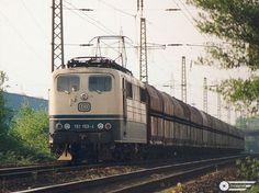 Lokomotiven der Deutschen Bahn auf der Ratinger Westbahn Baureihe 151
