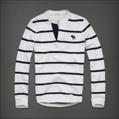White and navy blue sweater